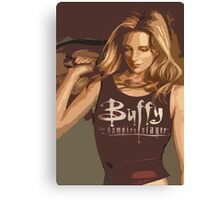 Buffy Season 8 Canvas Print