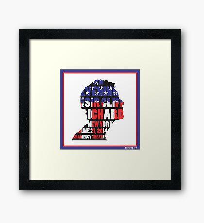 An Evening with Sir Cliff Richard Framed Print