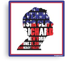 An Evening with Sir Cliff Richard Canvas Print