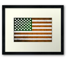 Irish American 015 Framed Print
