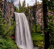 Tumalo Falls by Cat Connor