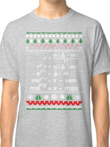MATH CHRISTMAS Classic T-Shirt