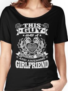 AWESOME GIRLFRIEND Women's Relaxed Fit T-Shirt