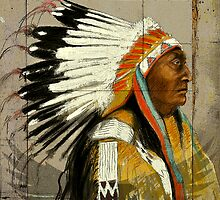 Brule Sioux Tribe by itchingink