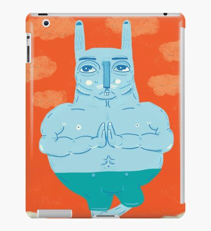 Zen Rabbit iPad Case/Skin