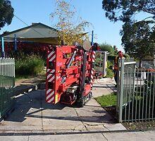 Spider Lift Accessmen - Removalist Sydney -www.ACCESSmen.com.au by balconyliftsydn
