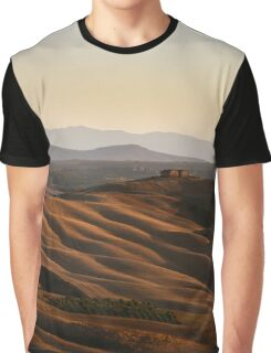 Val'dAsso, Siena, Tuscany, Italy Graphic T-Shirt