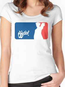 Major League Attorney: Objection Women's Fitted Scoop T-Shirt
