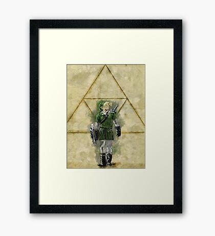 Hero of Time Framed Print