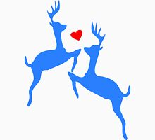 ۞»♥Adorable Jumping Deer Couple Clothing & Stickers♥«۞ Men's Baseball ¾ T-Shirt