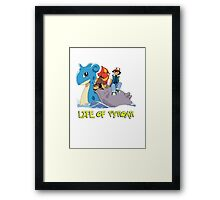 Life Of Pyroar Framed Print