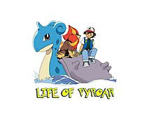 Life Of Pyroar Photographic Print