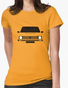 VW Rabbit  Womens Fitted T-Shirt