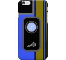 Retro Cam - Blue iPhone Case/Skin