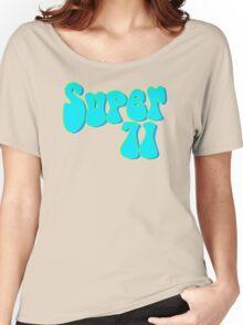 Super 71 - Blue Women's Relaxed Fit T-Shirt