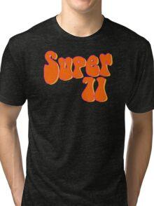 Super 71 - Orange Tri-blend T-Shirt