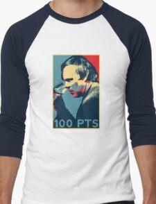 """""""Parker"""" for Wine Geeks Men's Baseball ¾ T-Shirt"""