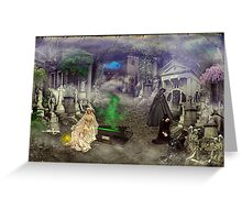 The Bride (A Victorian Fantasy) Greeting Card