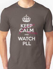 Keep calm and..pretty little liars! (white) Unisex T-Shirt