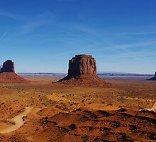 Monument Valley impression, Arizona by Claudio Del Luongo