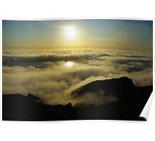 Pacific sunset, California Poster