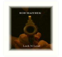 Lock N'Load Album Cover Art Print
