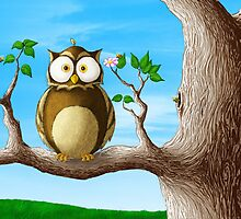 Insomni-Owl by JonahQ