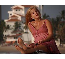 Living In The Paradise - Vivir En El Paraiso Photographic Print