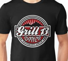 Grill 13, Raccoon City - Resident Evil Diner Tee Unisex T-Shirt