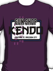 Kendo Gun Shop, Raccoon City - Resident Evil Tee T-Shirt