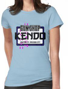 Kendo Gun Shop, Raccoon City - Resident Evil Tee Womens Fitted T-Shirt