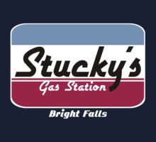 Stucky's Gas Station, Bright Falls - Alan Wake tee by LittleDoll