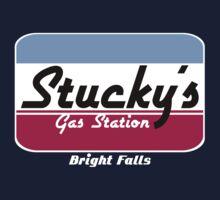 Stucky's Gas Station, Bright Falls - Alan Wake tee by Lauren Bowman