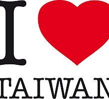 I ♥ TAIWAN by eyesblau