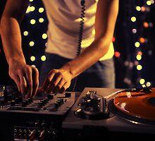 cool urban dj close-up by dubassy
