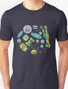 Watercolor Sewing Set T-Shirt