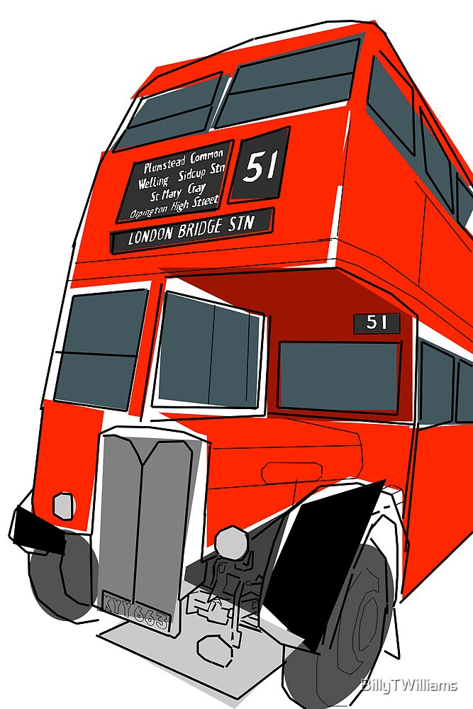 London Bus by BillyTWilliams
