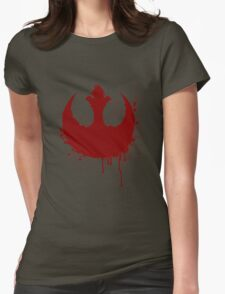 The Rebellion Awakens Womens Fitted T-Shirt