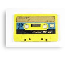 old cassette tape  Canvas Print