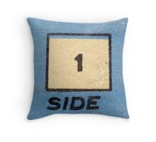 old cassette tape  Throw Pillow