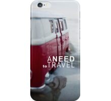 Need to travel iPhone Case/Skin