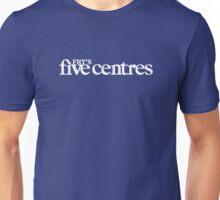 Fry's Five Centres Unisex T-Shirt