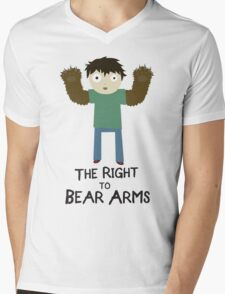 The Right To Bear Arms Mens V-Neck T-Shirt