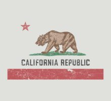 Vintage California Flag by colorhouse