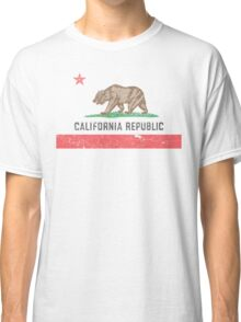 Vintage California Flag Classic T-Shirt