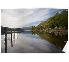 Loch Ard and Ben Lomond, Scotland. Poster