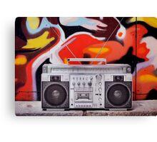 ghettoblaster Canvas Print