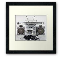 ghettoblaster Framed Print