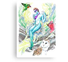 Win (Kinnara) Canvas Print