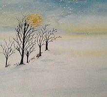 WINTERS WALK by Saffiere Baker